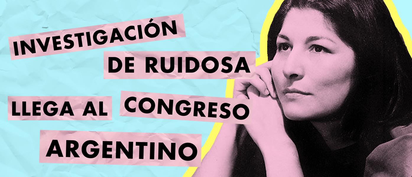 Investigación de Ruidosa llega al Congreso Argentino